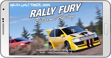 دانلود بازی Rally Fury Extreme Racing 1.18 - رالی خشم برای اندروید + پول بی نهایت