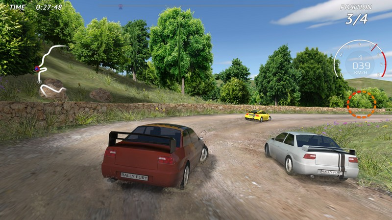 Rally Fury Extreme Racing 1.56 For Android + Infinite Money