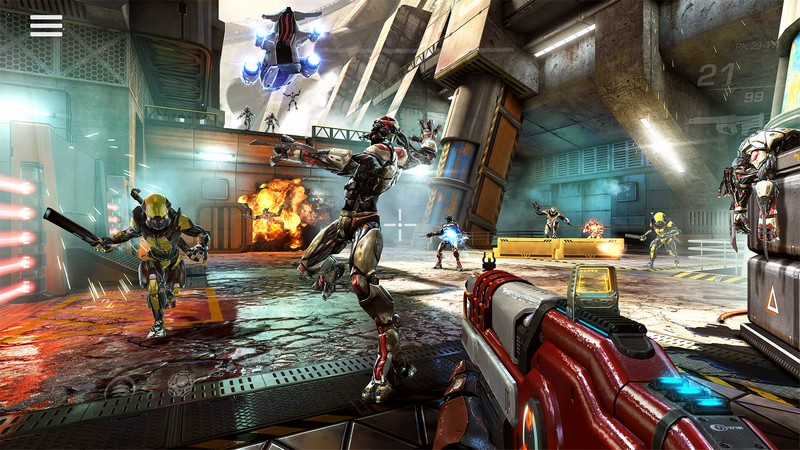 Shadowgun Legends 0.6.1 - Legendary Shadow Games For Android + Data + Infinite Edition