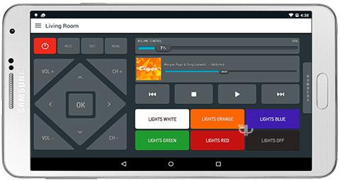 Smart IR Remote – AnyMote - دانلود Smart IR Remote - AnyMote 4.6.9 Cracked - برنامه تبدیل موبایل به کنترل تلویزیون برای اندروید