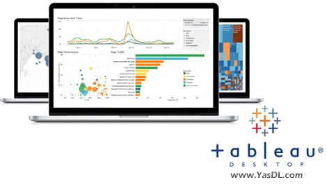دانلود Tableau Desktop Professional 10.4.0 x86/x64 - نرم افزار هوش تجاری و آنالیز داده ها