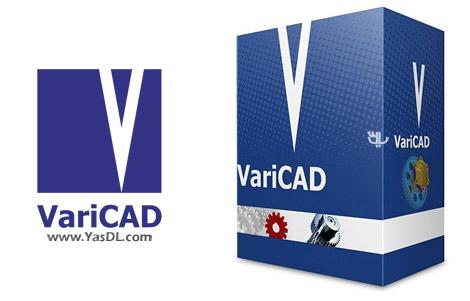 دانلود VariCAD 2018 1.00 Build 20171111 - نرم افزار طراحی قطعات صنعتی