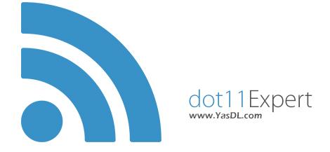دانلود dot11Expert Pro 1.2.2.8 + Portable - نرم افزار عیب یابی وای فای