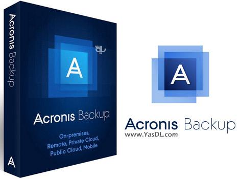 دانلود Acronis Backup 12.5.8850 - نرم افزار پشتیبان گیری از اطلاعات