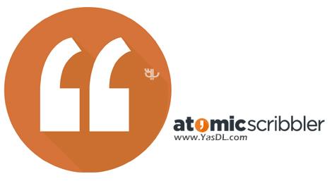 دانلود Atomic Scribbler 2.20 - نرم افزار داستان نویسی