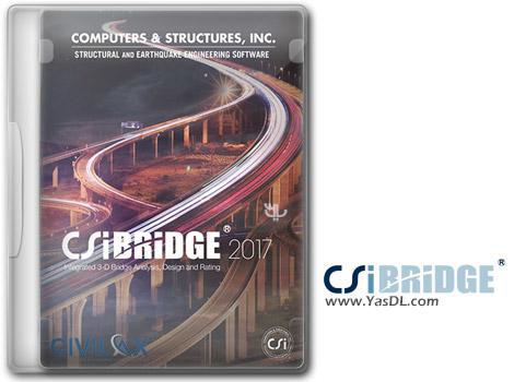 دانلود CSiBridge 2017 19.2.2 Build 1368 - مدل سازی و آنالیز طراحی انواع پل