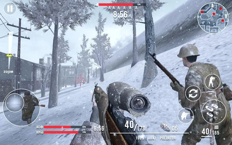 Call Of Sniper WW2 Final Battleground 3.3.5 For Android + Infinity