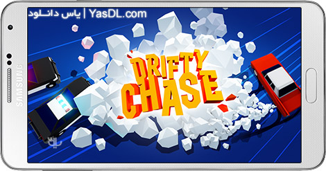 دانلود بازی Drifty Chase 2.0.1 - تعقیب با دریفت برای اندروید + پول بی نهایت