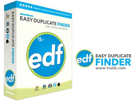 دانلود Easy Duplicate Finder 5.9.0.986 - نرم افزار جستجو و حذف فایل های تکراری