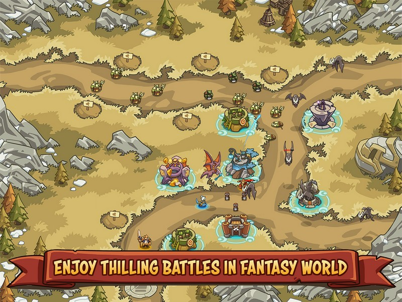 Empire Warriors TD Defense Battle 0.6.5 - Empire Warriors For Android + Infinite Money