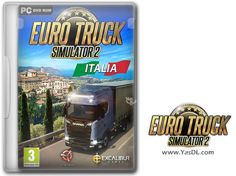 دانلود بازی Euro Truck Simulator 2 Italia برای PC