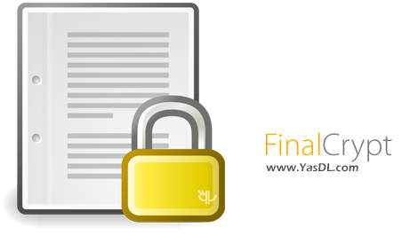 دانلود FinalCrypt 1.4.2 - رمزنگاری فایل ها به روش سایفر
