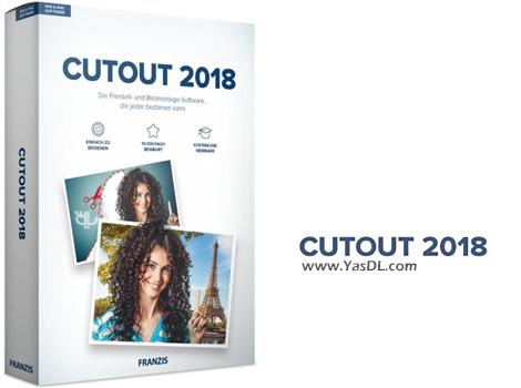 دانلود Franzis CutOut 2018 Professional 6.1.0.1 - نرم افزار حذف بک گراند تصاویر