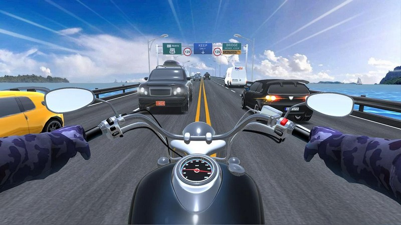 Motorcycle Rider Game 2.2.5009 For Android + Infinite Money