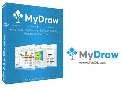 دانلود MyDraw Enterprise 1.0.1 + Portable - نرم افزار ترسیم انواع نقشه های ذهنی