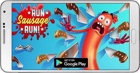 دانلود بازی Run Sausage Run! 1.2.0 - فرار سوسیس برای اندروید