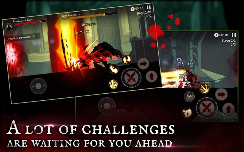 Shadow Of Death Dark Knight 1.83.1.0 For Android + Infinite