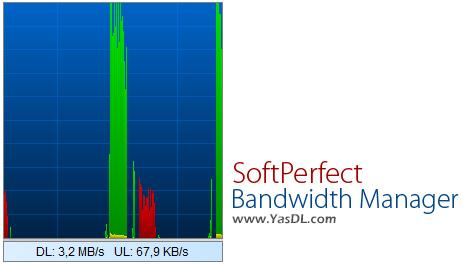 دانلود SoftPerfect Bandwidth Manager 3.2.4 - نرم افزار مدیریت پهنای باند
