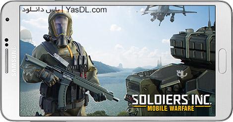 دانلود بازی Soldiers Inc Mobile Warfare 1.22.1 - سربازان جنگی برای اندروید