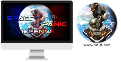 دانلود بازی Space Panic Defense برای PC