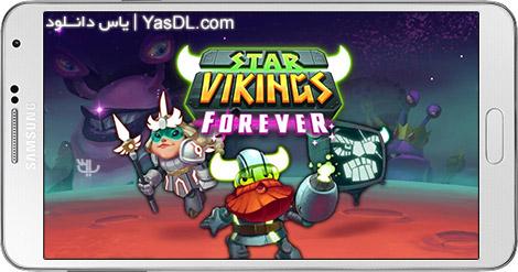 دانلود بازی Star Vikings Forever 1.0.20 - وایکینگ های ستاره ای برای اندروید + پول بی نهایت