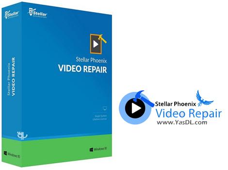 دانلود Stellar Phoenix Video Repair 3.0.0.0 - نرم افزار تعمیر فایل های ویدیویی آسیب دیده