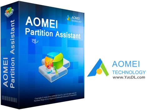 دانلود AOMEI Partition Assistant All Editions 6.6.0 - پارتیشن بندی هارد دیسک