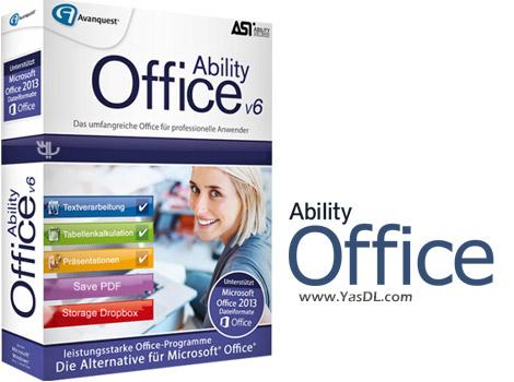 دانلود Ability Office 6.0.140 + Portable - جایگزین قدرتمند برای مایکروسافت آفیس