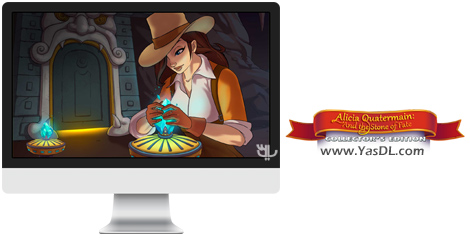 دانلود بازی Alicia Quatermain and the Stone of Fate Collectors Edition برای PC