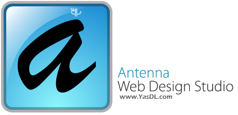 دانلود Antenna Web Design Studio 6.51 - نرم افزار طراحی وب سایت بدون نیاز به کدنویسی