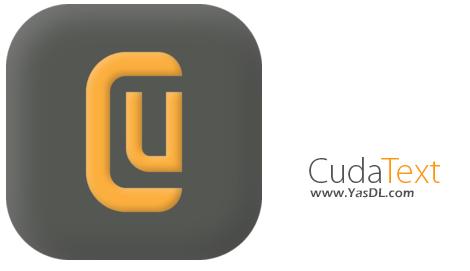 دانلود CudaText 1.38.3.0 - نرم افزار ویرایش حرفه ای متن