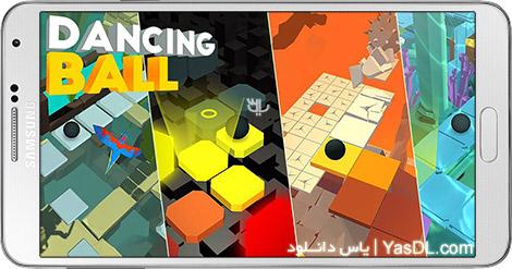 دانلود بازی Dancing Ball! 0.2.7 - چالش حفظ تعادل توپ برای اندروید + پول بی نهایت