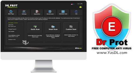 دانلود Dr Prot Antivirus 4.4.42 - محافظت از سیستم در برابر ابزارهای مخرب