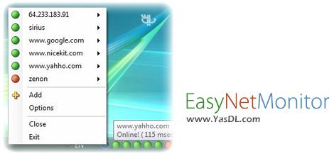 دانلود EasyNetMonitor 2.7.0.2 - نرم افزار مدیریت و نظارت بر شبکه