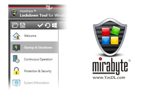 دانلود FrontFace Lockdown Tool 1.5.7 - راه اندازی کیوسک همگانی اینترنت