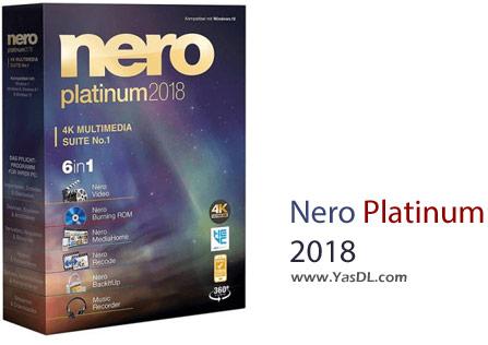 دانلود Nero Platinum 2018 Suite + Content Pack - مجموعه ابزارهای نرو