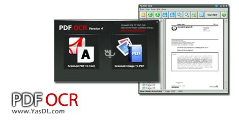 دانلود PDF OCR 4.4.0 - نرم افزار استخراج متن از اسناد PDF