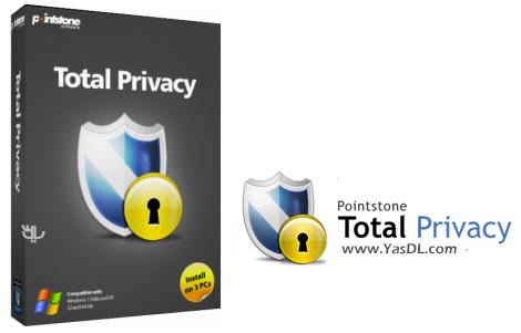 دانلود Pointstone Total Privacy 6.55.393 - نرم افزار حفظ حریم خصوصی کاربران در اینترنت