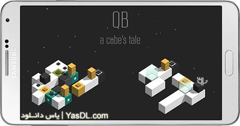 """دانلود بازی QB - a Cubes Tale 1.1.0 - معمای """"کیو بی"""" برای اندروید + نسخه بی نهایت"""