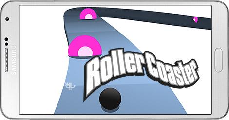 دانلود بازی Roller Coaster 1.0 - هدایت توپ از روی ترن هوایی برای اندروید