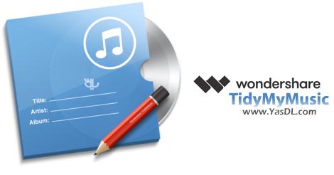 دانلود Wondershare TidyMyMusic 1.6.0.3 + Portable - ویرایش و تصحیح تگ فایل های صوتی