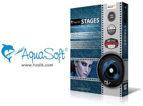 دانلود AquaSoft Stages 12.2.04 x64 - نرم افزار ویرایش و ساخت پروژه های چند رسانه ای