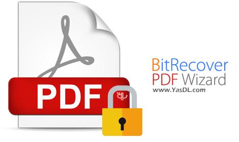 دانلود BitRecover Lock / Unlock PDF Wizard 1.1 - نرم افزار محافظت از اسناد PDF