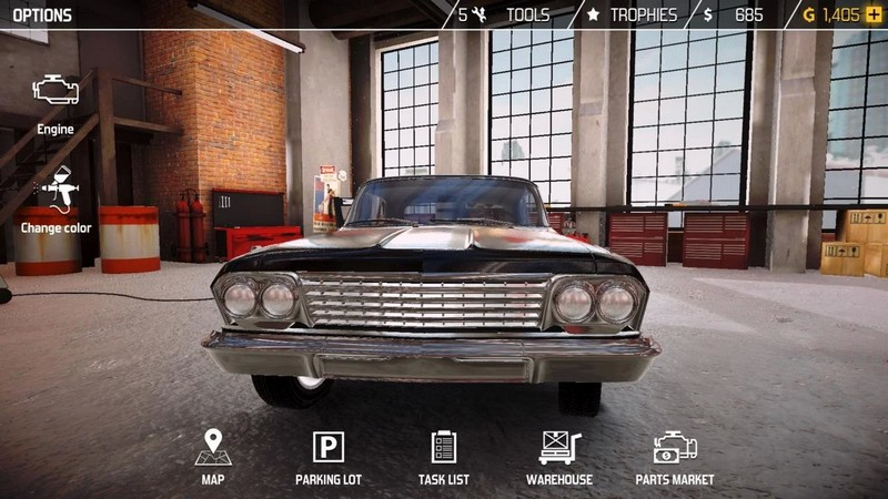 Car Mechanic Simulator 18 1.2.1 For Android + Infinity Edition
