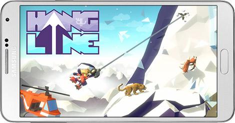 دانلود بازی Hang Line 1.0 - سنگ نوردی در کوهستان برای اندروید