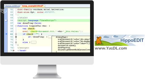 دانلود HippoEDIT 1.61.61 x86/x64 - نرم افزار ویرایش حرفه ای متن