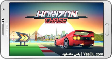 دانلود بازی Horizon Chase - World Tour 1.4.4 - مسابقات اتومبیل رانی برای اندروید + دیتا