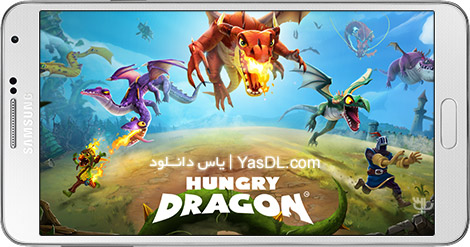 Hungry Dragon 2.10 B432 Hungry Dragon Game For Android + Infinite