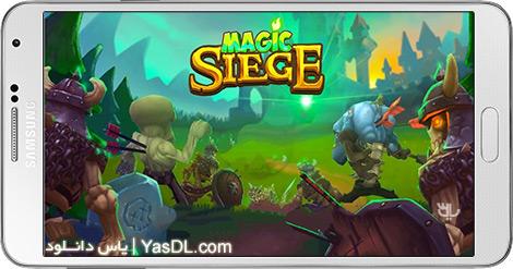 دانلود بازی Magic Siege - Defender 1.36 - محاصره جادویی برای اندروید + نسخه بی نهایت