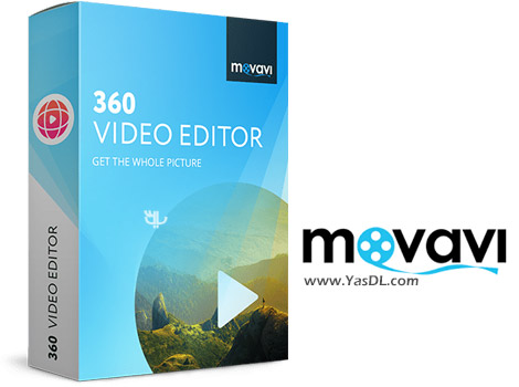 دانلود Movavi 360 Video Editor 1.0.1 - ویرایش ویدیوهای 360 درجه